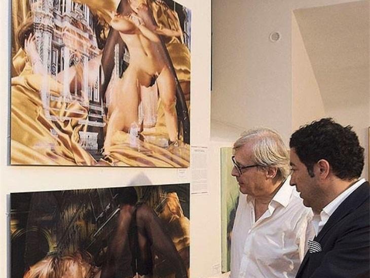 Vittorio Sgarbi per l'artista Angelo De Francisco
