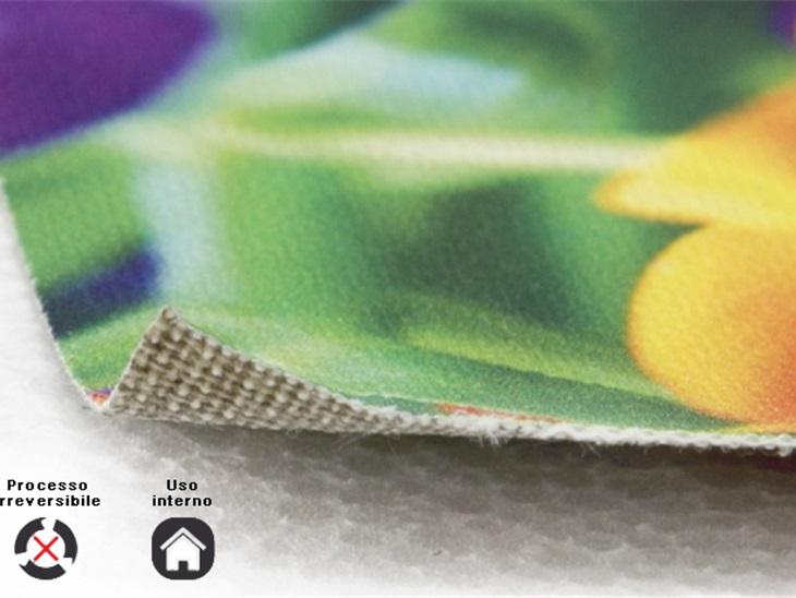 Product | Stampa su tela pittorica con tecnologia UV