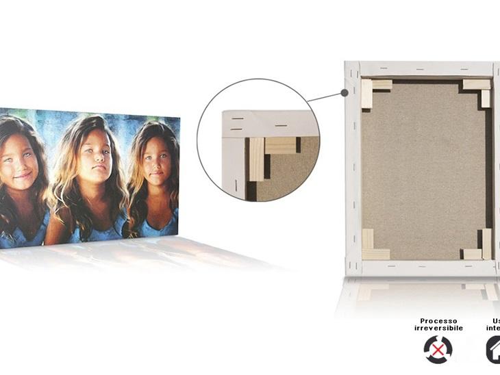 Product | Stampa fotografica su tela pittorica intelaiata