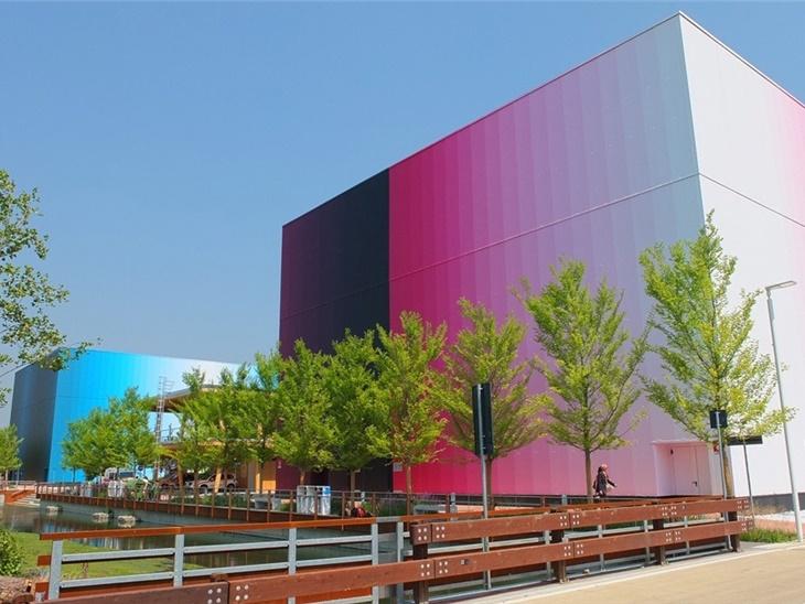 I palazzi gemelli di Expo 2015 sono firmati TOPCOLOR DREAM