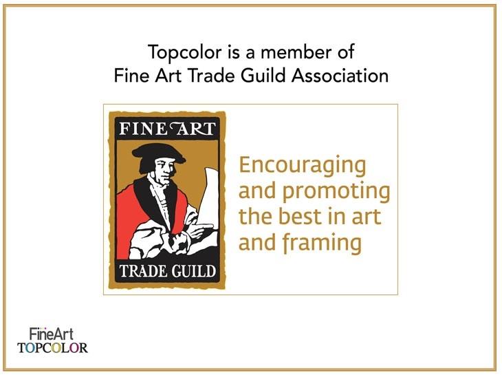 TOPCOLOR DREAM è membro della FINE ART TRADE GUILD