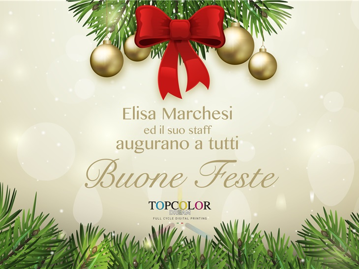 Buone Feste da Topcolor Dream!